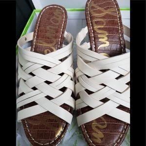 Sam Edelman Women's Ivory Sandals- Size 7.5- NEW